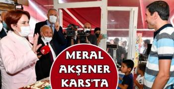İYİ Parti Lideri Meral Akşener Kars'ta