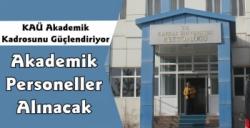 Kafkas Üniversitesi Akademik Personel Alım İlanı Yayınladı