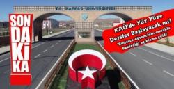Kafkas Üniversitesi Yeni Eğitim Döneminin  Nasıl Olacağını Açıkladı