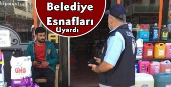 Kars Belediyesi'nden Esnafa Uyarı