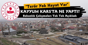 Kars Belediyesi'nin Yatırım ve Çalışmaları Açıklandı