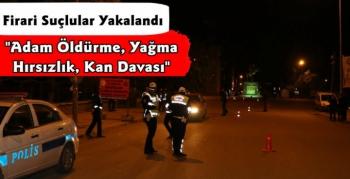 Kars Polisi Firari Şahısları Yakaladı