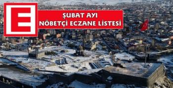 Kars Şubat 2021 Nöbetçi Eczane Listesi