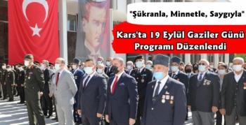 Kars'ta 19 Eylül Gaziler Günü Etkinlikleri