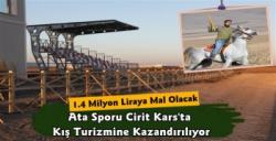 Kars'ta Ata Sporu Cirit İçin Modern Sahada Sona Yaklaşıldı