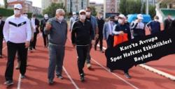 Kars'ta Avrupa Spor Haftası Ekinlikleri