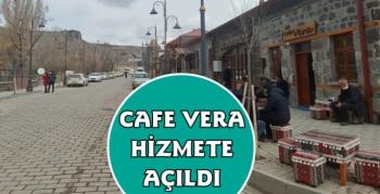 Kars'ta Cafe Vera Hizmete Açıldı