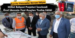 Kars'ta Devlet Yatırımları Devam Ediyor