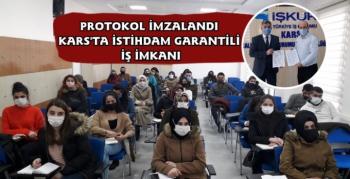 Kars'ta İşkur'dan 40 Kişilik Mesleki Eğitim