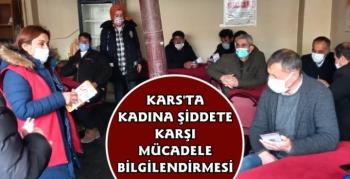 Kars'ta Kadına Yönelik Şiddetle Mücadele Eğitimi