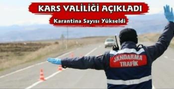 Kars'ta O Köyde Korona Karantinasına Alındı