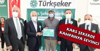 Kars'ta Şeker Pancarı Alım Kampanyası