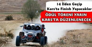 Kars'ta TransAnatolia Rally Raid Yarışları Ödül Töreni Düzenlenecek