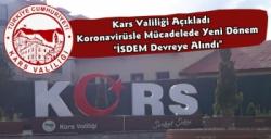Kars Valiliği Açıkladı Koronavirüs Tedbirlerine Uymayanları İSDEM'e Bildirin