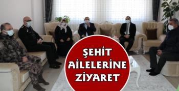 Kars Valisi Türker Öksüz'den Şehit Ailelerine Ziyaret