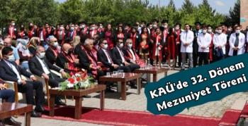 KAÜ'de Veterinerlik Fakültesi'nin Mezuniyet Töreni