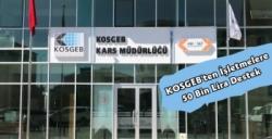 KOSGEB'den İşletmelere 50 Bin Liralık Test ve Analiz Desteği
