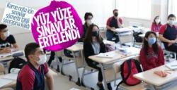 Milli Eğitim Bakanı Açıkladı Yüz Yüze Sınavlar Ertelendi