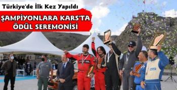 TransAnatolia Rally Raid Şampiyonlarına Kars'ta Ödül Seremonisi