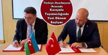 Türkiye ile Azerbaycan Arasında Yeni Karayolu Taşımacılığı Başlıyor
