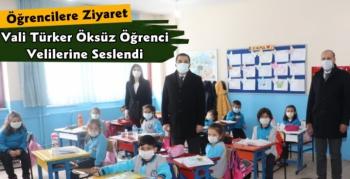 Vali Türker Öksüz Öğrencilerle Bir Araya Geldi
