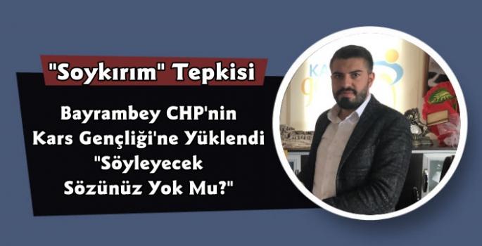 Kars AK Gençlikten CHP'ye Soykırım Tepkisi
