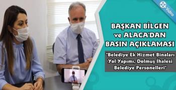 Kars Belediye Başkanı Bilgen ve Alaca'dan Açıklamalar