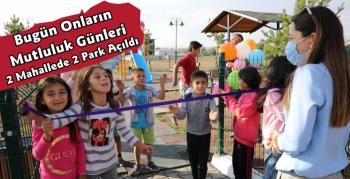 Kars Belediyesi Çocuk Parklarını Hizmete Sundu
