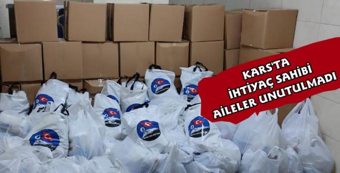Kars Belediyesi'nden 250 Aileye Gıda Yardımı