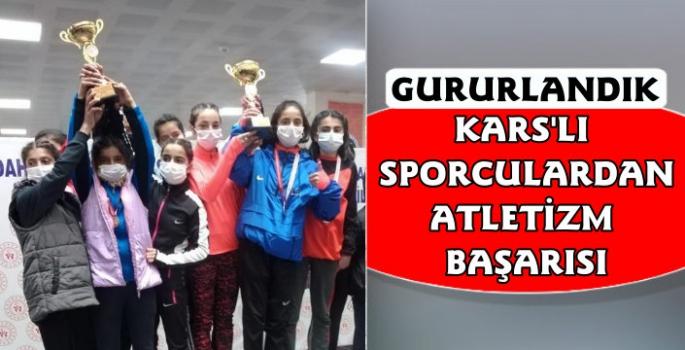 Kars Belediyesi Sporcuları Gururlandırdı