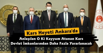 Kars Heyeti'nden Ankara Çıkarması