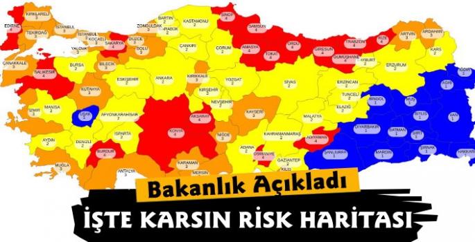 Kars'ın Risk Haritası Açıklandı