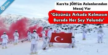 Kars Jandarma'dan Yeni Yıl Mesajı