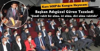 Kars MHP'de Tolga Adıgüzel Güven Tazeledi