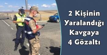 Kars'ta 2 Kişinin Yaralandığı Kavgada 4 Gözaltı