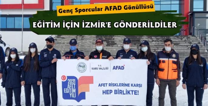 Kars'ta Genç Sporcular AFAD Gönüllüsü Olsun Projesi