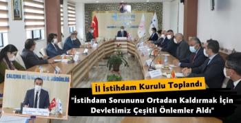 Kars'ta İl İstihdam ve Mesleki Eğitim Kurulu Toplandı