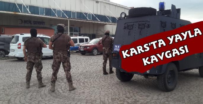 Kars'ta Köylülerin Yayla Kavgası 3 Yaralı
