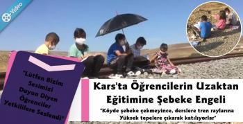 Kars'ta Öğrencilerin Uzaktan Eğitimine Şebeke Engeli