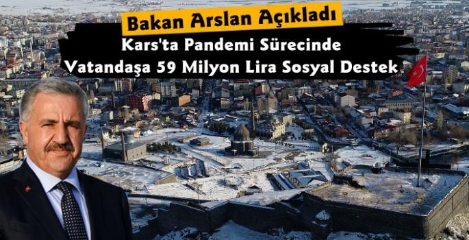 Kars'ta Pandemi Sürecinde Vatandaşlara 59 Milyonluk Sosyal Yardım