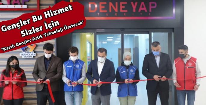 Kars'ta Teknoloji Üretecek Gençler İçin Deneyap Atölyesi Hizmete Açıldı