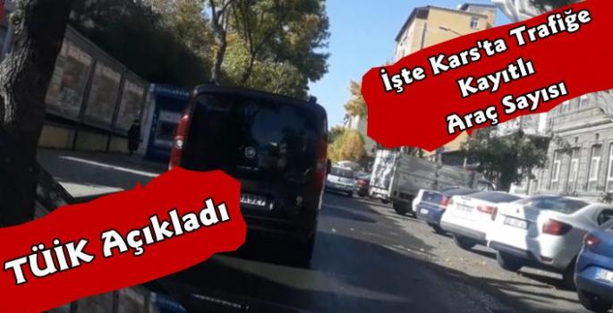 Kars'ta Trafiğe Kayıtlı Araç Sayısı 45 Bin 358'e Yükseldi