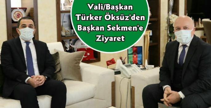 Kars Valisi Türker Öksüz Erzurum'da