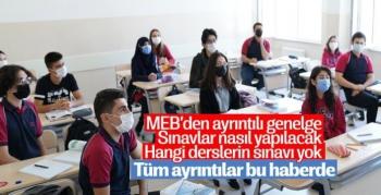 Milli Eğitim Genelge Yayınladı Okullarda Sınavlar Nasıl Yapılacak