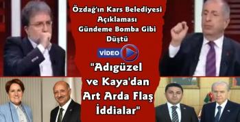 Ümit Özdağ'ın Kars Belediyesi Seçim Açıklaması Gündeme Bomba Gibi Düştü